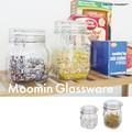 【即納可能】MOOMIN ガラスウェア ムーミンパパ・メモワール 密閉ビン【ガラス】