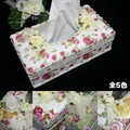 ティッシュボックスケース<ローズ 薔薇 レース>