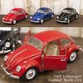 ダイキャストミニカー[Volkswagen Classical Beetle (1967) 1/24(L)]【ロット6台】