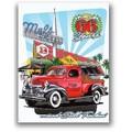 ★よりどり3点送料無料★アメリカン雑貨★看板★直輸入★Mel's Drive-In★メルズドライブイン・66 Years