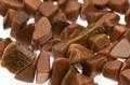 【天然石さざれビーズ】ゴールドストーン (大粒) 20cm (数量限定商品)【天然石 パワーストーン】