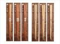 【キッチン】<天然木箸> ナチュラルウッド素材箸【けやき(三角/楕円/六角)/栗(三角/楕円/六角)】
