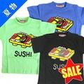 【SALE】【53】☆和柄Tシャツ「おすし」☆ 【ベビー・キッズ用】