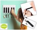 【QUALY】キーピアノ(ピアノの鍵盤モチーフのキーホルダーセット)