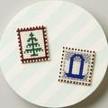 【手作り】 カード型ビーズ織り機で作るブローチキット