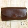 【Lien】栃木レザールビーフラップウォレット 長財布 〈日本製〉