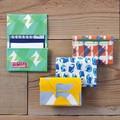 【ネームカードケース】<JUBILEEgg>開かずにカードの出し入れができる外ポケット付き◆2つ折り/3ポケット