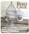 バードケージ フラップ【インテリア】【鳥かご】【籠】【アイアン】【アンティーク】