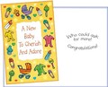 Stockwell Greetings グリーティングカード 出産祝い用 <ベビーカー・おもちゃ>