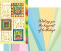 Stockwell Greetings グリーティングカード バースデー <ケーキ×プレゼント>