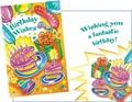 Stockwell Greetings グリーティングカード バースデー <ケーキ・風船・プレゼント>