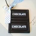 チョコレートリボンネックレス:unpetit(アンぺティット)