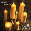 【英国王室・Price's】チャーチキャンドル【正統派の教会キャンドル】