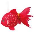 【金魚】涼やかな夏のイメージの金魚型巾着