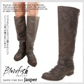 【Blowfish】 Jasper Taupe Canyon バックジッパーブーツ