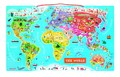 【Janod】パズル ワールドマップ【NEWデザイン】