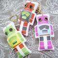 ロボットが可愛いキーホルダー♪