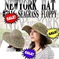 ★春夏セール♪【ニューヨークハット】 #7116 SEAGRASS FLOPPY 12160