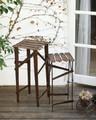【ガーデン用品・スタンド】ヴィンテージ風 Fenceボード スタンド