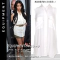 【Equipment】【正規品】エキプモン ノースリーブシルクシャツ Signature Sleeveless / Bright White