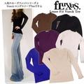 【Fluxing/Fluxus】2980Loose Fit Vneck Tee ルーズフィット ロングスリーブ