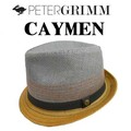 2TONE使用のストローHAT♪PETERGRIMM CAYMEN 12022