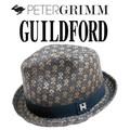 天然素材の柄織り中折れ♪ PETERGRIMM GUILDFORD 13342