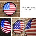 ラウンドウォールランプ[US Flag]<アメ雑>
