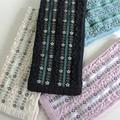 ☆春夏スタイル!☆【4色展開】《UV手袋 フリルと小花刺繍》夏の紫外線対策に♪