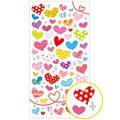 ペタンコシール patterned heart