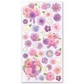 フラワーシール Purple Bouquet