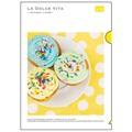 【LA DOLCE VITA】A4クリアファイル イエローカップケーキ