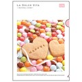 【LA DOLCE VITA】A4クリアファイル ハッピークッキー