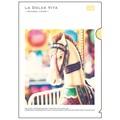 【LA DOLCE VITA】A4クリアファイル メリーゴーラウンドホース