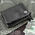 ★IG-900★イギンボトム シルバー925コンチョセパレートウォレット/3ファスナー折財布