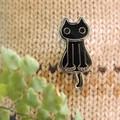 《LMピンズコレクション》帽子やバッグのアクセントに♪種類豊富なピンバッジ(ピタ)& (しっぽ猫)♪