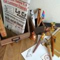 5型展開 木彫りの動物たちボールペン♪