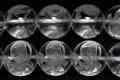 【天然石彫刻ビーズ】水晶 12mm (素彫り) 玄武【天然石 パワーストーン】