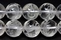 【天然石彫刻ビーズ】水晶 12mm (素彫り) 青龍【天然石 パワーストーン】