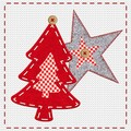 Paw Decor  Collection ペーパーナプキン クリスマス <ツリー×星>