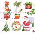 Paw Decor  Collection ペーパーナプキン クリスマス <サンタ・ツリー・靴下>