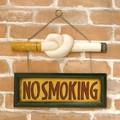 アンティークアイテム[NO SMOKING SIGNプラッケ(Cigarette)]<アメ雑>