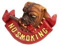 アンティークアイテム[NO SMOKING SIGNプラッケ・DOG]