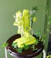 【インテリア・花器/ベース】<愛嬌たっぷりカエルの花瓶>2 Frog ホールド Glass Vase+カエル+花器