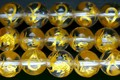【天然石彫刻ビーズ】水晶 8mm (金彫り) 青龍【天然石 パワーストーン】