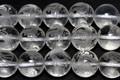 【天然石彫刻ビーズ】水晶 10mm (素彫り) 朱雀【天然石 パワーストーン】