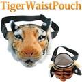 【タイガー グッズ】TIGER WAIST POACH ウエストポーチ メッセンジャー トラ リアル ファー タイガー