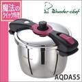 Wonderchef(ワンダーシェフ)新・魔法のクイック料理 両手圧力鍋5.5L AQDA55