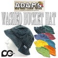 ADAMS WASHED BUCKET HAT  12542