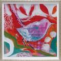 アマンダ J. ブルックス アートフレーム【特殊ゲル加工アート】アニマル/鳥<樹脂フレーム>